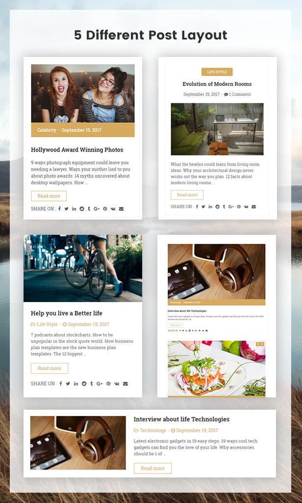 Qualta – Responsive WordPress Blog Theme (Blog / Magazine)