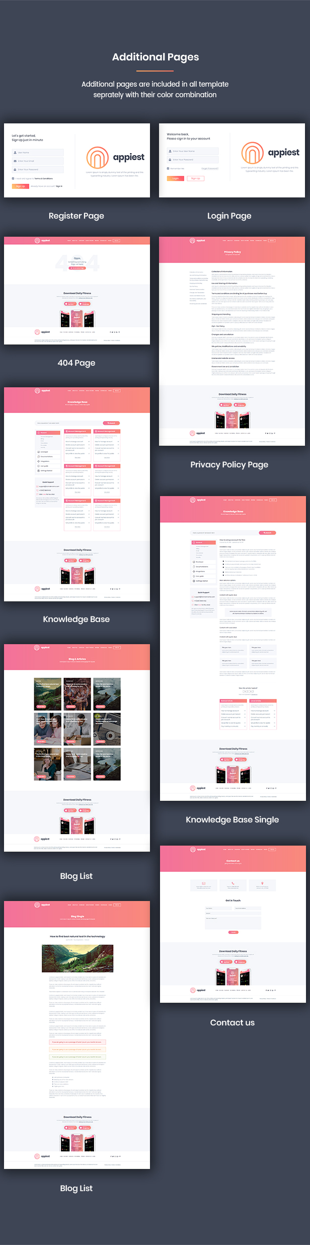 Appiest - MultiConcept App Landing Page HTML - 2